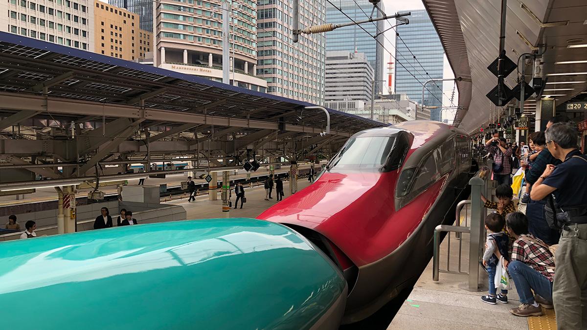 東北新幹線はやぶさ,秋田新幹線こまち