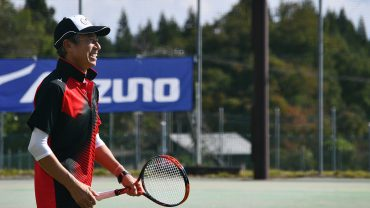 柳葉敏郎,ソフトテニス,チャリティートーナメント