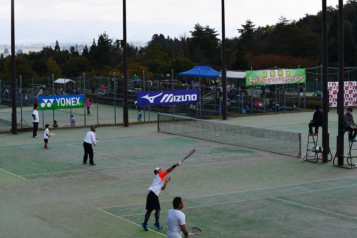 大仙市総合公園テニスコート