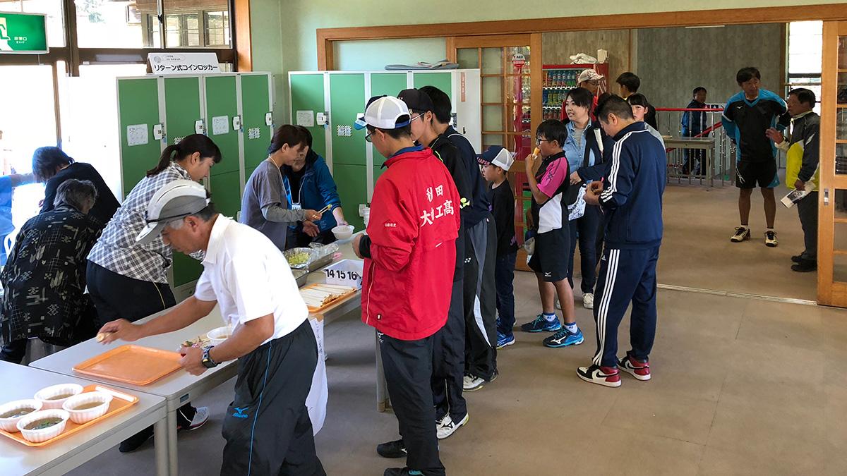 秋田県ソフトテニス連盟,豚汁,芋の子汁