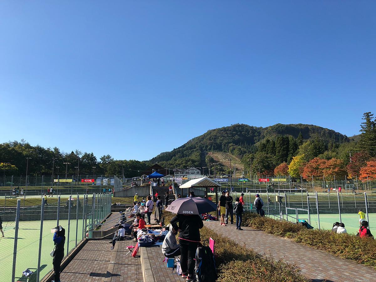 ギバちゃんチャリティー大会,試合会場,大仙市総合公園テニスコート