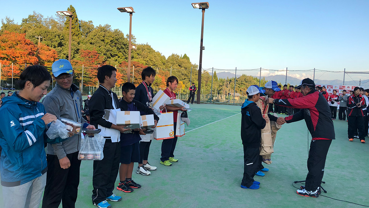 柳葉敏郎チャリティー大会,表彰式,優勝賞品
