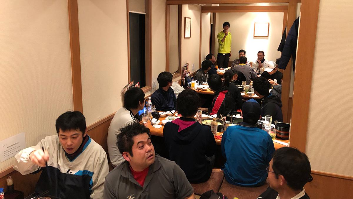 武蔵小杉ソフトテニス練習会,忘年会