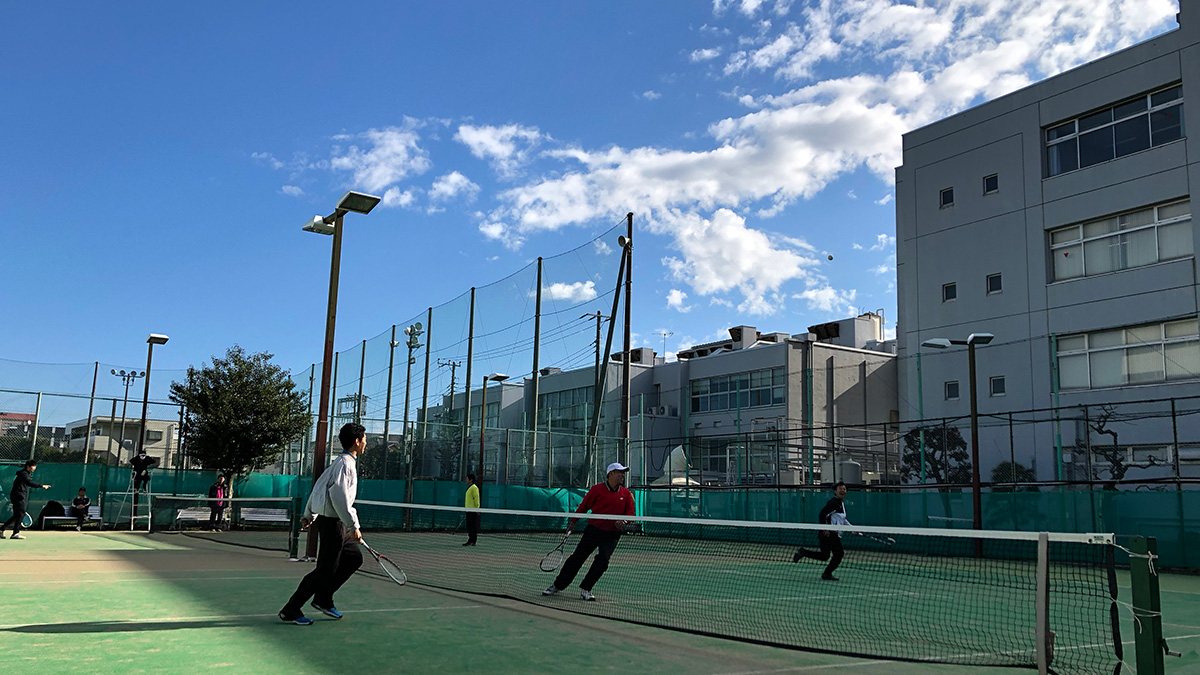 NECソフトテニス部