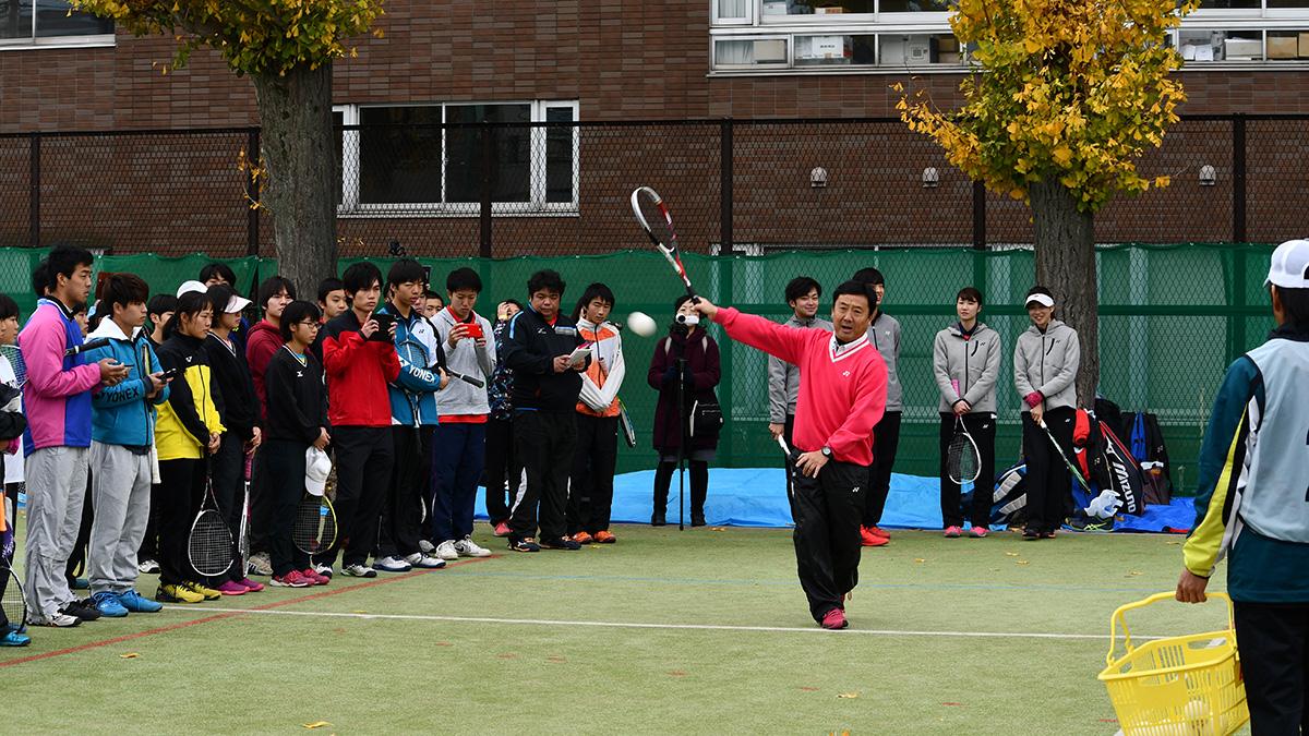 ソフトテニス講習会,早稲田大学,小野寺剛,日本代表