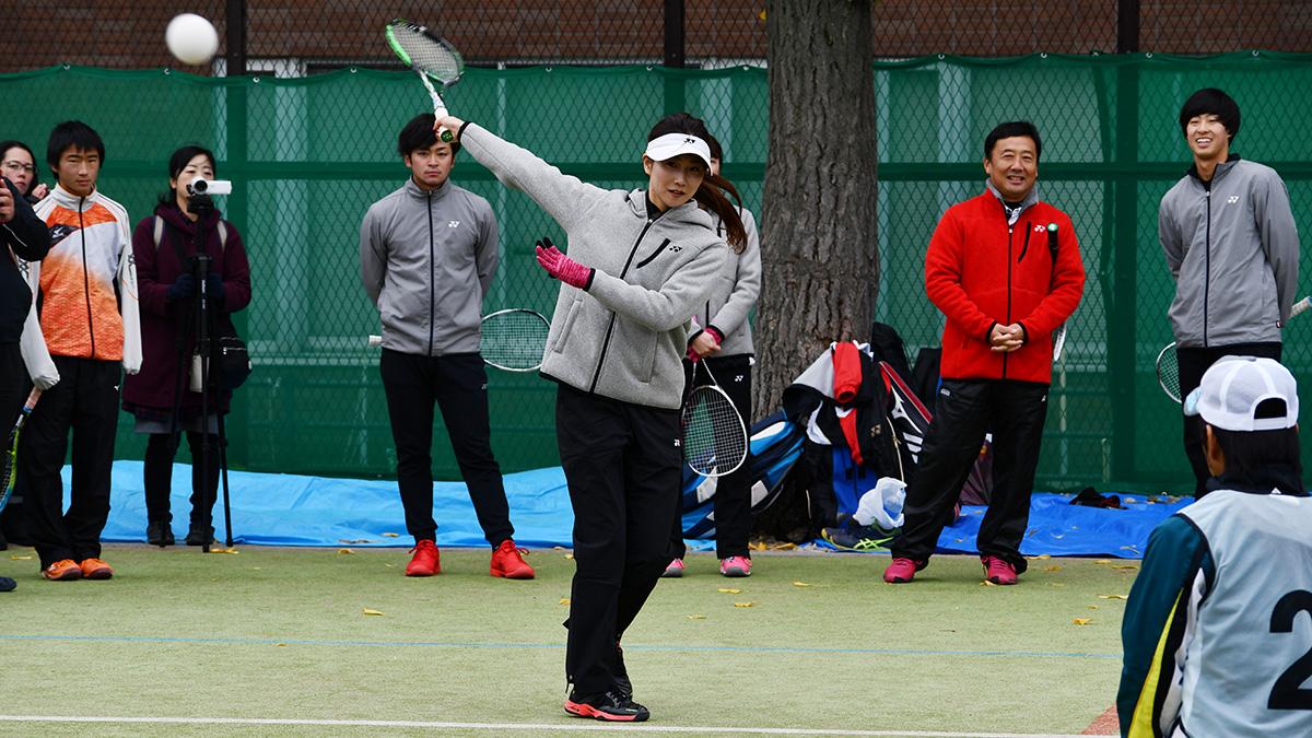 ソフトテニス講習会,早稲田大学,平久保安純