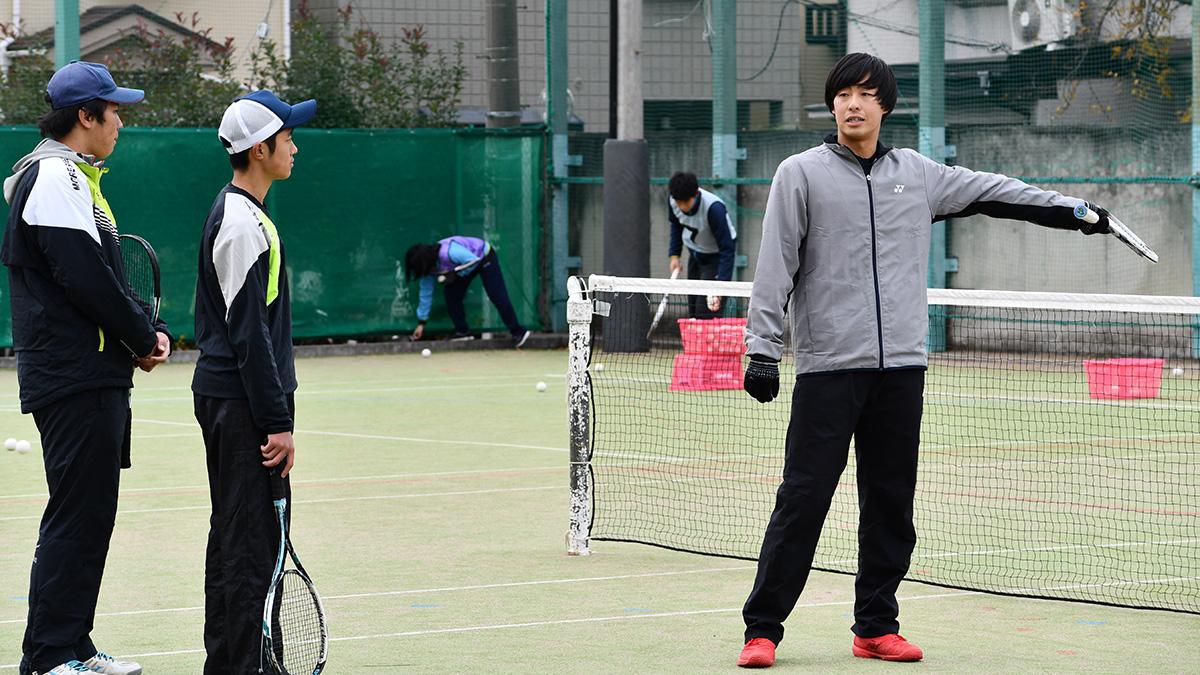 ソフトテニス講習会,早稲田大学,上松俊貴,日本代表