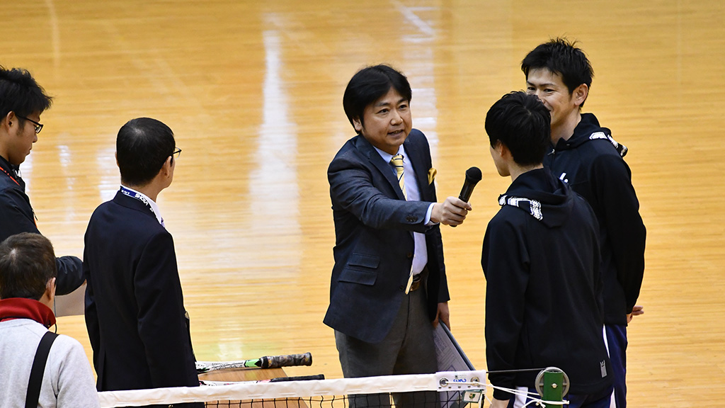 ソフトテニス有名人,日本テレビ,藤井恒久アナウンサー