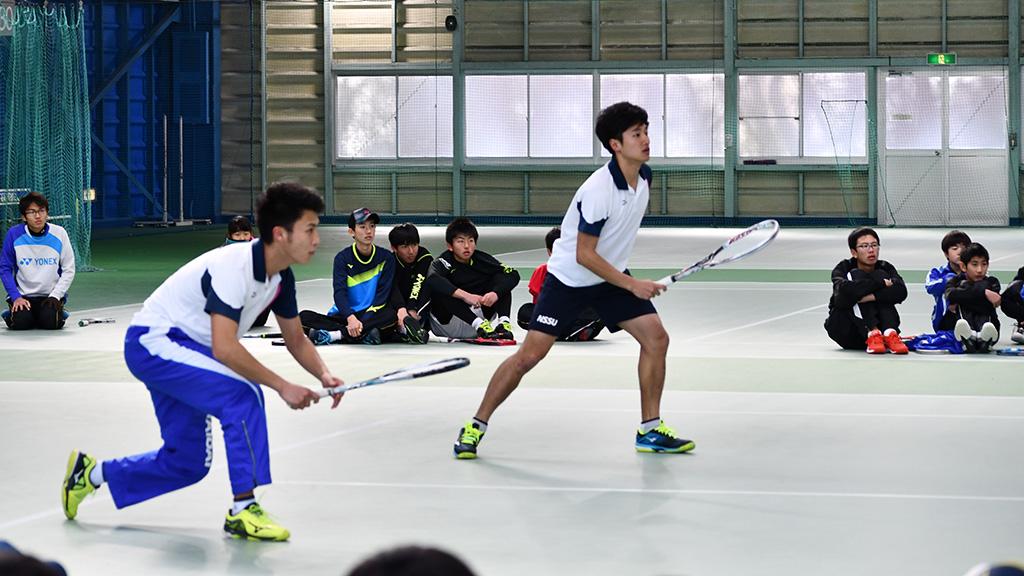 ルネサンス棚倉,ソフトテニスキャンプ,日体大,橋本星野