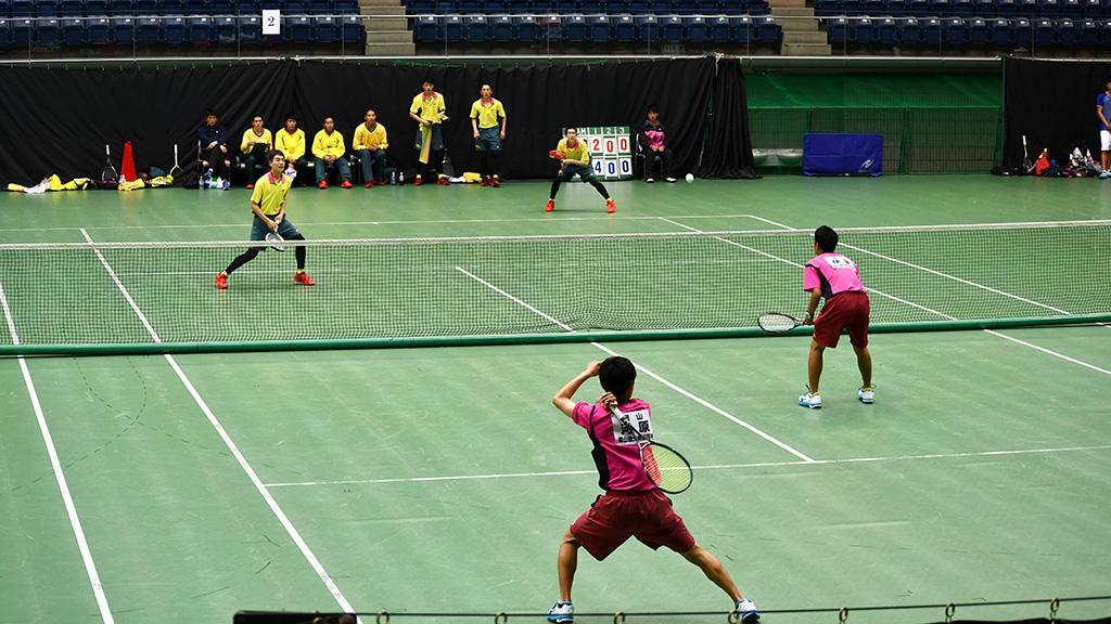 2019全日本私立高等学校選抜ソフトテニス大会,尽誠学園,岡山理科大学附属