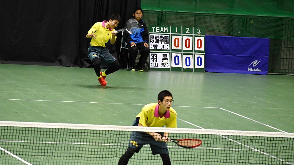 2019全日本私立高等学校選抜ソフトテニス大会,尽誠学園,白川松原