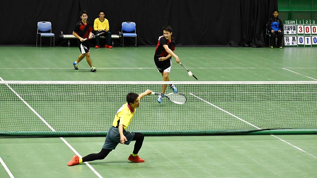 2019全日本私立高等学校選抜ソフトテニス大会,尽誠学園,羽黒
