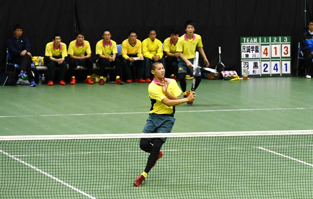 2019全日本私立高等学校選抜ソフトテニス大会,尽誠学園,片岡大辻