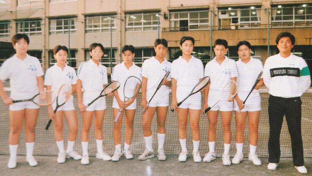 北区立桜田中学,ソフトテニス部,岡田秀一先生