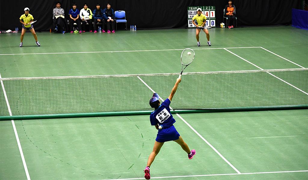 2019全日本私立高等学校選抜ソフトテニス大会,就実,和歌山信愛