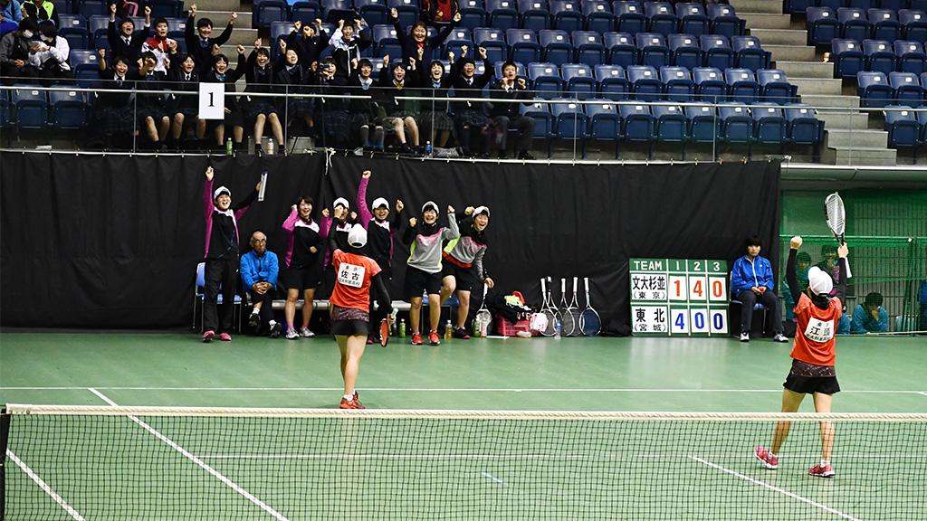 2019全日本私立高等学校選抜ソフトテニス大会,文大杉並,全国私学