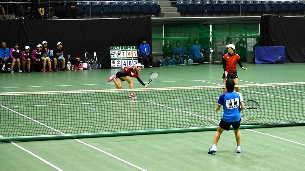 2019全日本私立高等学校選抜ソフトテニス大会,文大杉並,東北