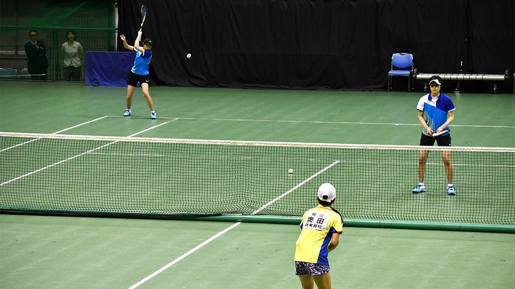 2019全日本私立高等学校選抜ソフトテニス大会,就実,東北