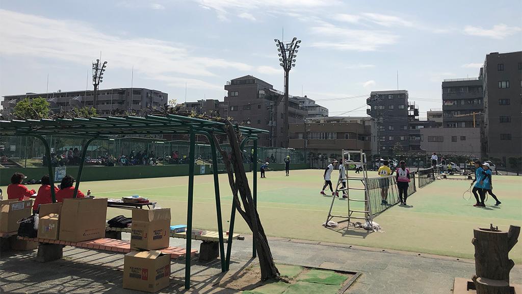 2019(平成31年度)関東オープンソフトテニス大会,谷河内テニスコート,35女子の部