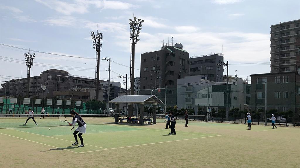 2019(平成31年度)関東オープンソフトテニス大会,谷河内テニスコート,45女子の部