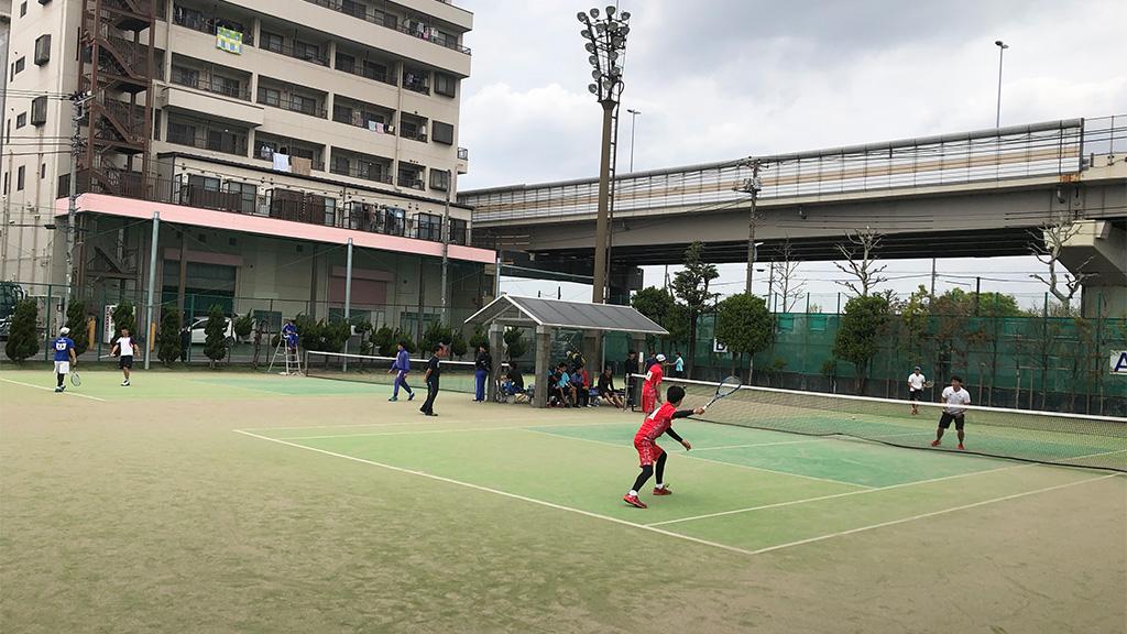 2019(平成31年度)関東オープンソフトテニス大会,谷河内テニスコート,一般男子1部