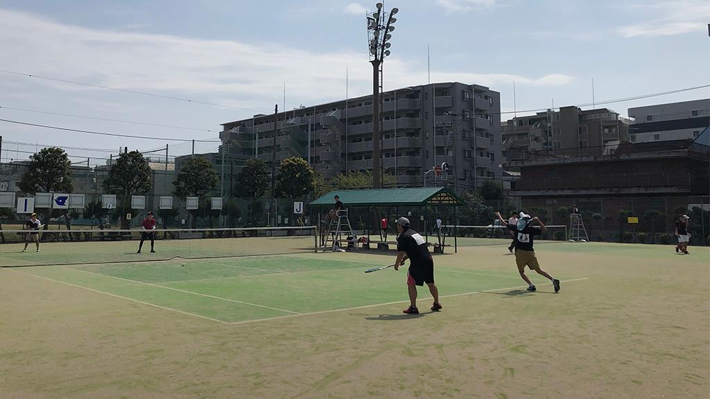 2019(平成31年度)関東オープンソフトテニス大会,谷河内テニスコート,一般男子2部