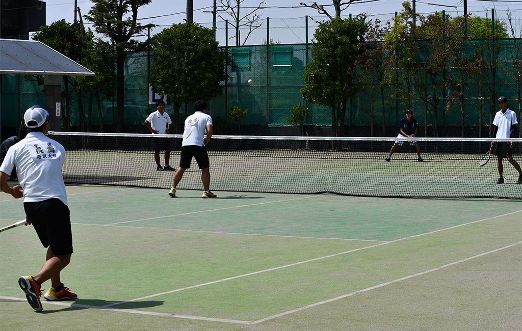 2019(平成31年度)関東オープンソフトテニス大会,帝京大学,明治大学