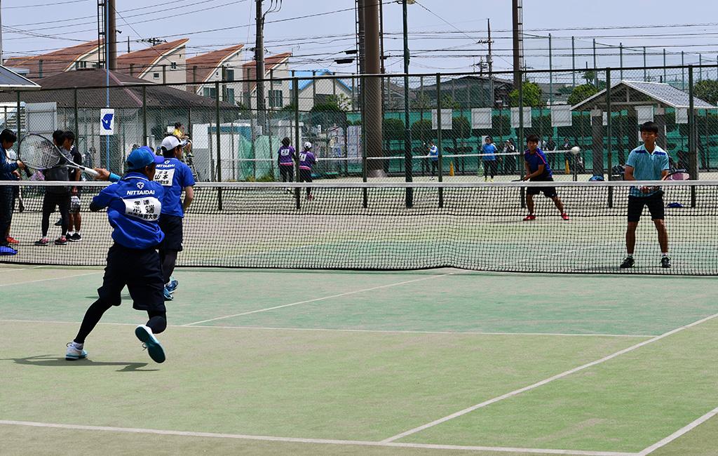2019(平成31年度)関東オープンソフトテニス大会,立教大学,日本体育大学