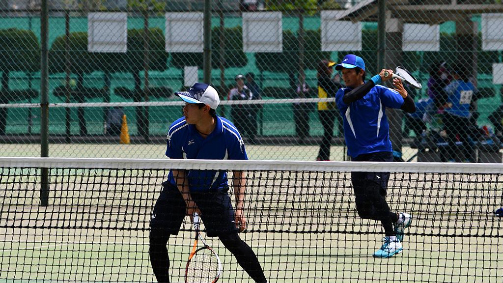 2019(平成31年度)関東オープンソフトテニス大会,日本体育大学,溝端山本