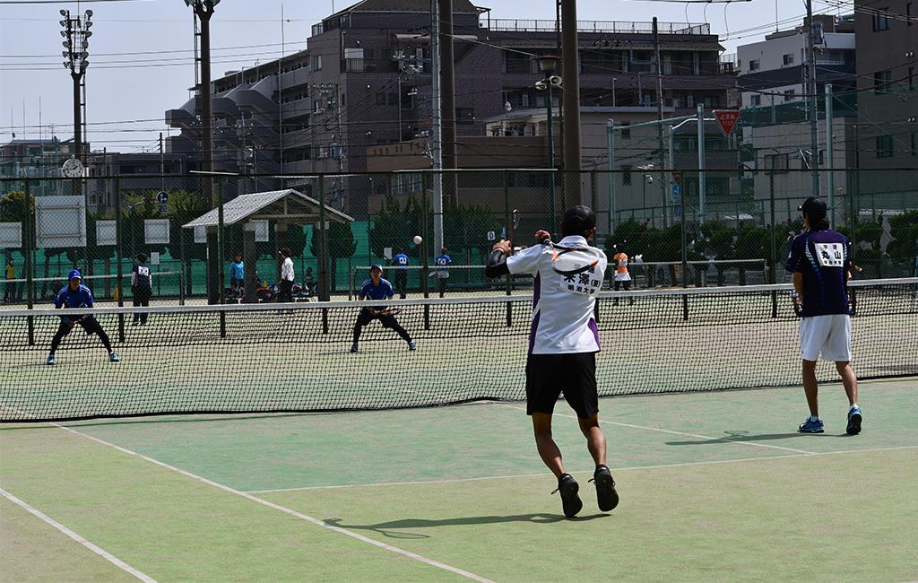 2019(平成31年度)関東オープンソフトテニス大会,明治大学,日本体育大学