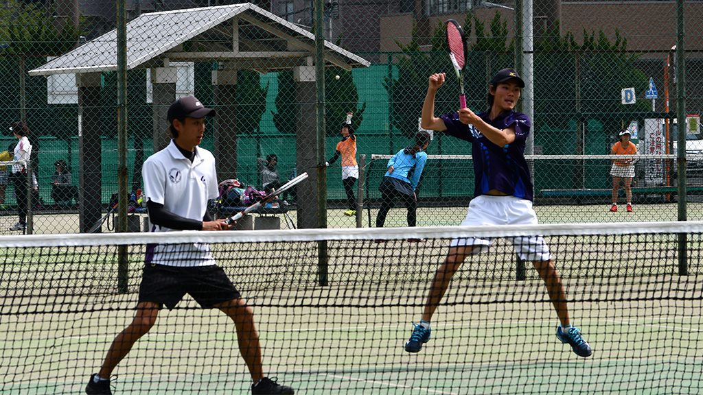 2019(平成31年度)関東オープンソフトテニス大会,明治大学,丸山米澤