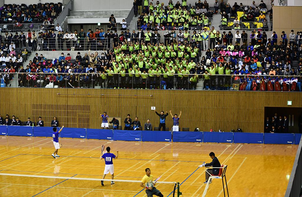 センバツソフトテニス,岡崎城西,尽誠学園