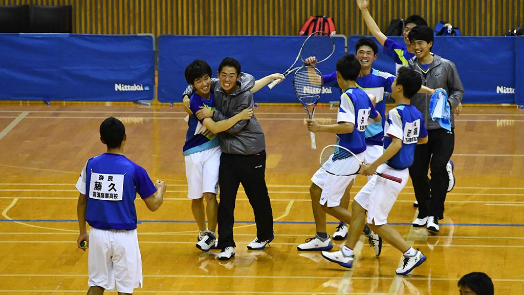 2019全日本高等学校選抜ソフトテニス大会,センバツ男子優勝,高田商業
