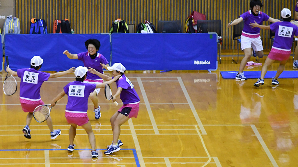 2019全日本高等学校選抜ソフトテニス大会,センバツ女子優勝,就実