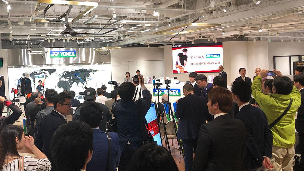 YONEX TOKYO SHOWROOM,ヨネックスプロ契約,ソフトテニス