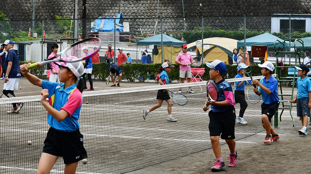 第10回ジュニアソフトテニスアカデミーin甘楽2019, 第23回北区・甘楽町友好都市間スポーツ交流事業