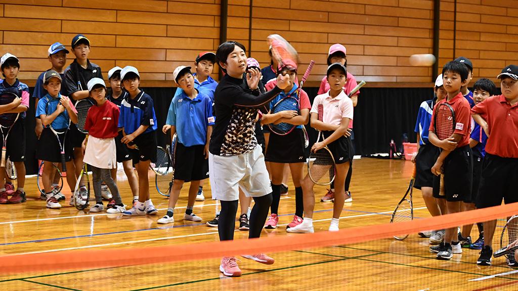 第10回ジュニアソフトテニスアカデミーin甘楽2019, 三浦洋美