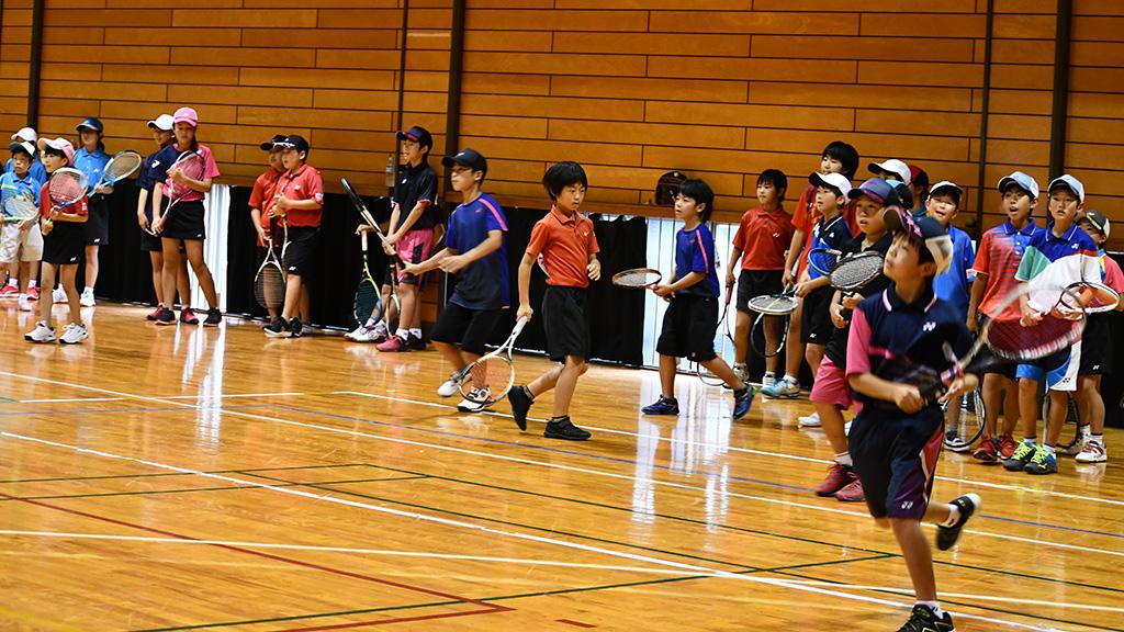 甘楽町立体育館,甘楽町スポーツ少年団,甘楽町ジュニアソフトテニスクラブ