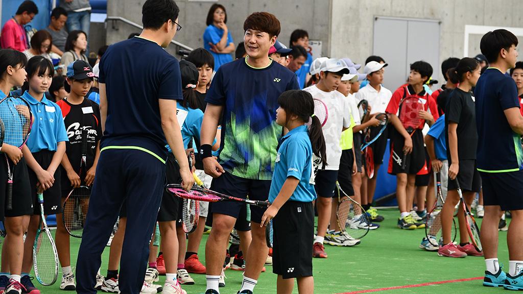 ジョン・ジーヒョン,ソフトテニス韓国代表