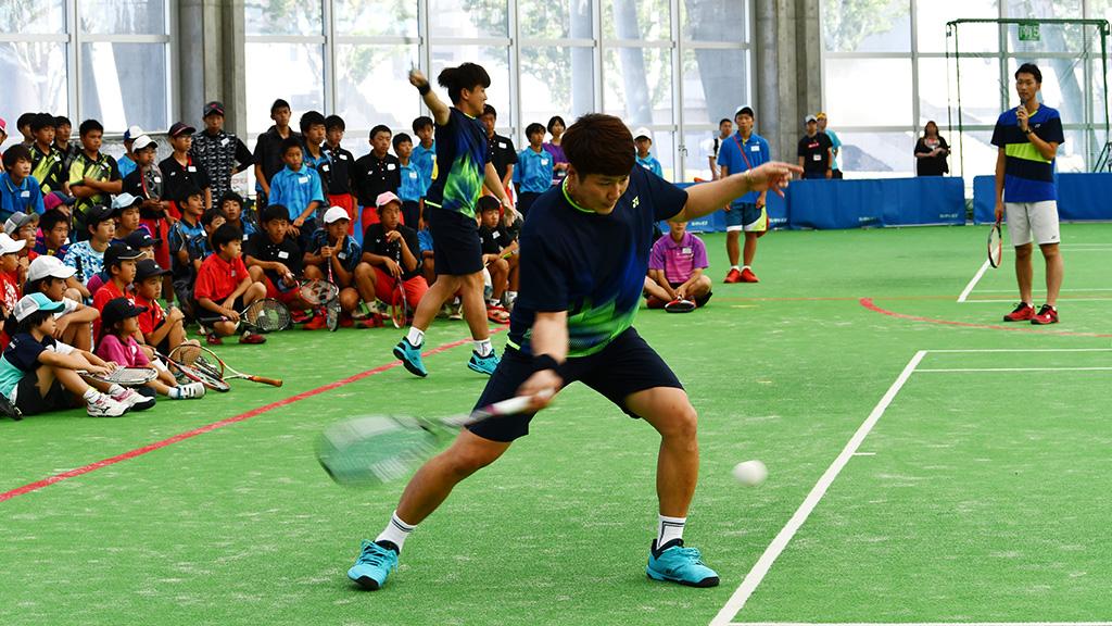 キム・ビョンジュン,ジョン・ジーヒョン,ソフトテニス韓国代表