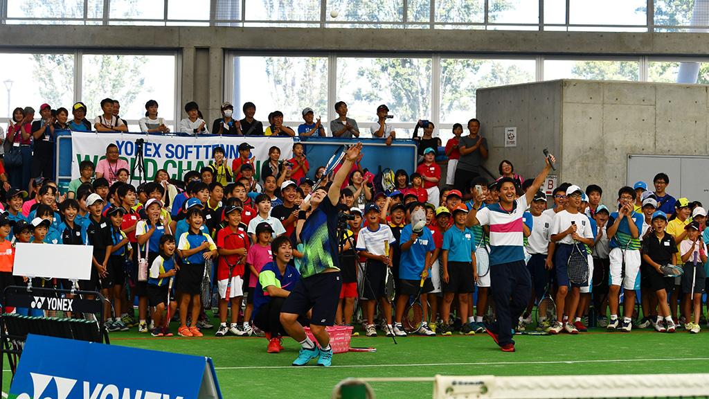 ヨネックスソフトテニスワールドチャレンジIN埼玉,YONEX SOFTTENNIS WORLD CHALLENGE,くまがやドーム