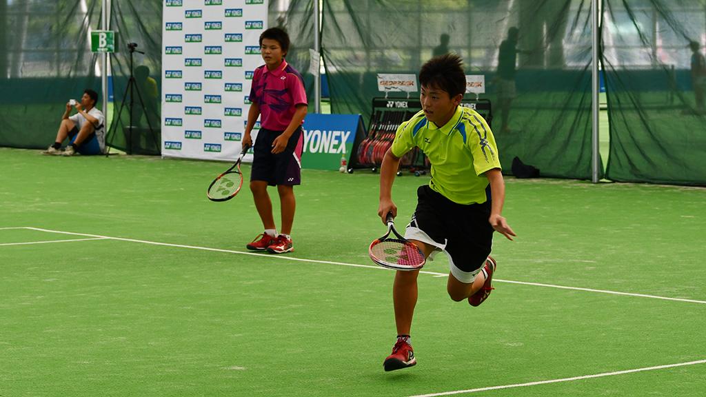 秩父第一中,根岸小泉,ソフトテニス