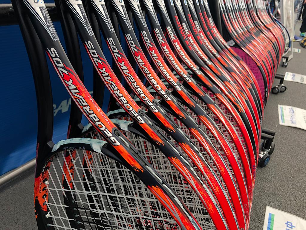 GEOBREAKE,ジオブレイク,ヨネックス新作ソフトテニスラケット