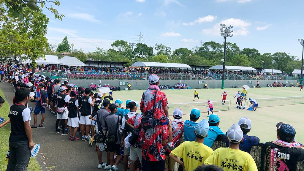 2019インターハイソフトテニス競技会場,宮崎市生目の杜運動公園