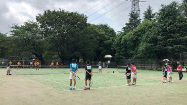 ソフトテニス,中体連,中学都大会