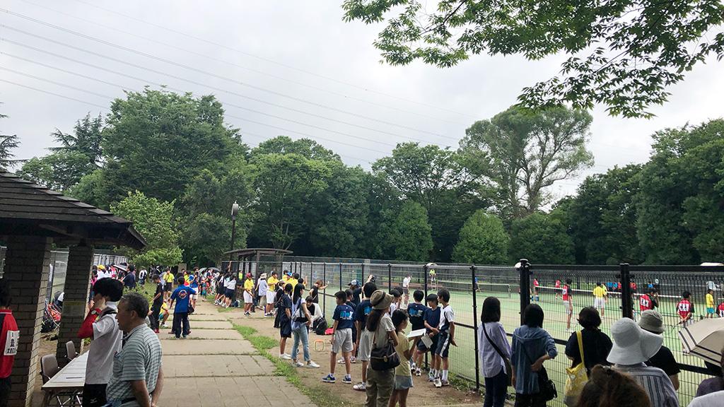 ソフトテニス,中体連,中学都大会,小金井公園テニスコート