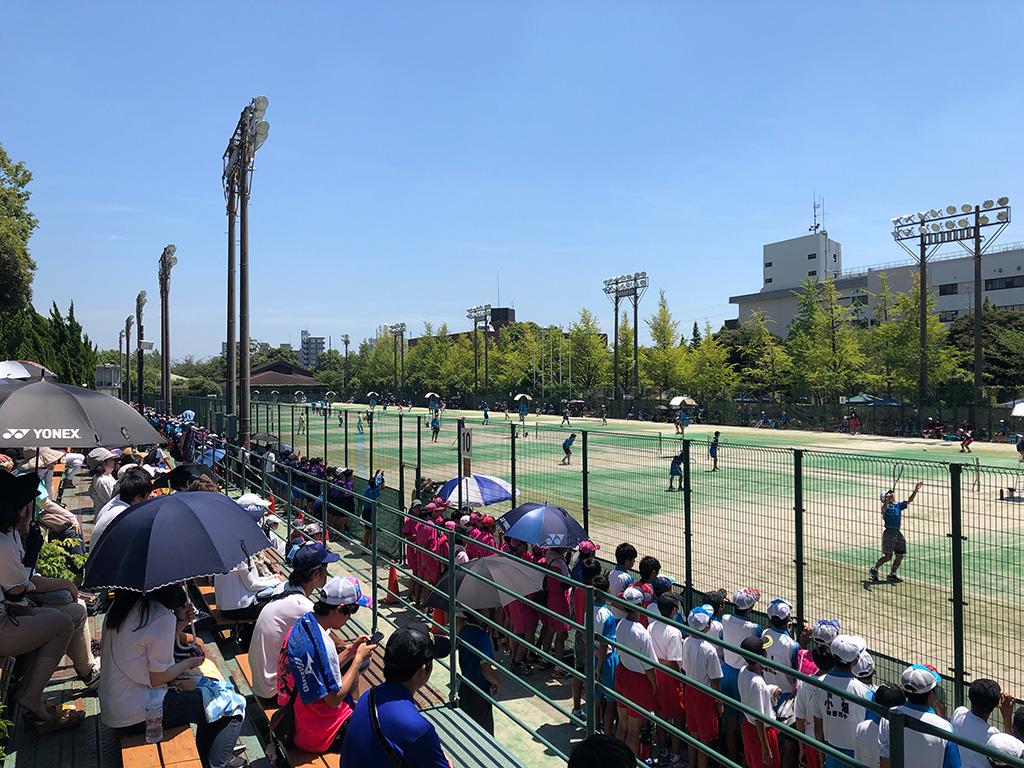 2019関東中学校ソフトテニス大会,神奈川,富士見公園テニスコート