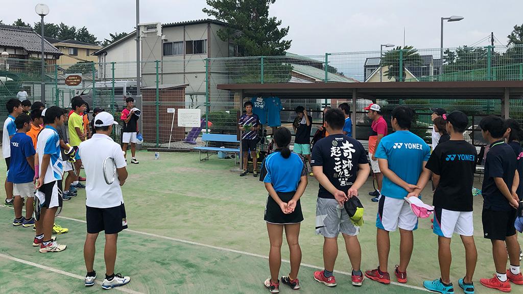 ソフトテニス合宿,ソフトテニつ部,one315