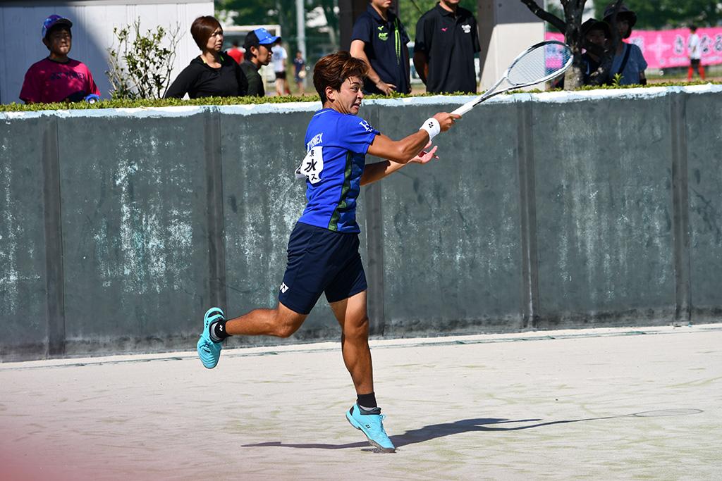 ソフトテニスプロ選手,船水颯人プロ,ヨネックス