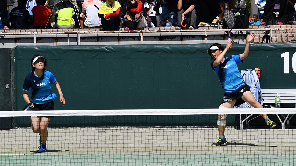 2019全日本社会人ソフトテニス選手権,花濱村,ナガセケンコー